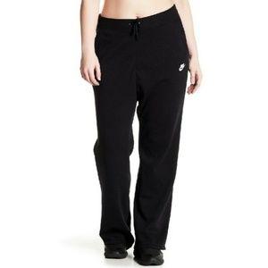 Nike Fleece Lined Wide Leg Sweatpants 1X PLUS SIZE